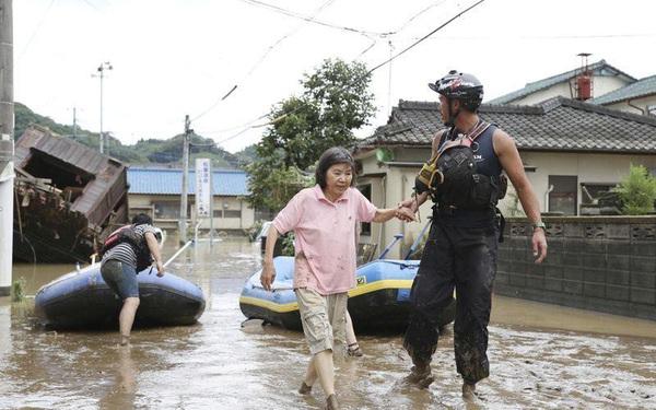 7 người thiệt mạng do mưa lũ nghiêm trọng tại Nhật Bản