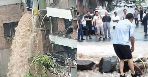 Lời kể của chủ căn nhà bị mưa lũ tràn từ tầng 3: Cả nhà hốt hoảng khi lũ ập vào, mặc áo ngủ bỏ chạy, không dám trở về