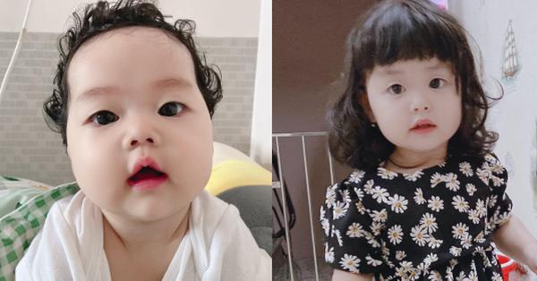 Mẹ Quảng Nam đẻ 2 con gái xinh như búp bê, nhưng ra đường ai nhìn tóc bé cũng trách oan mẹ một điều