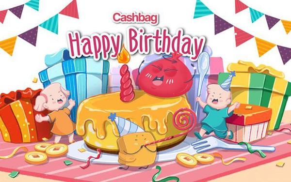 Mừng sinh nhật Cashbag 1 tuổi – Giveaway quà tặng giá trị lên đến hàng trăm triệu đồng