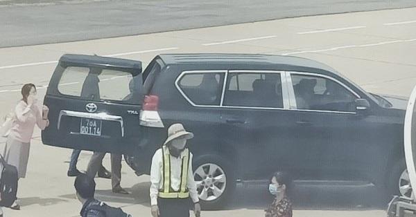Tỉnh ủy Phú Yên nói gì vụ Phó Bí thư dùng xe biển xanh đón sát máy bay?