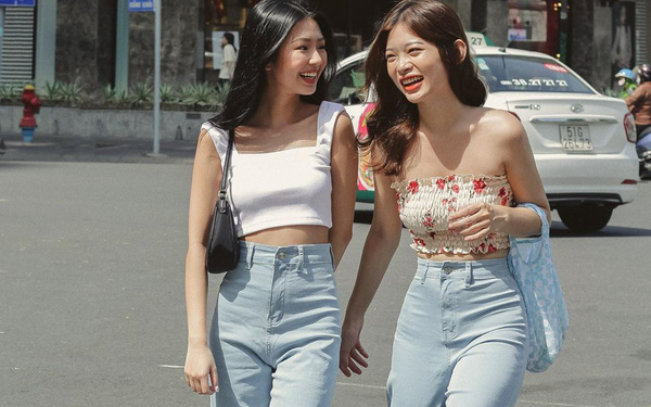 Quần jeans ống rộng giấu nhẹm chân to, mặc lên cao ráo hơn chục phân nàng nào còn chưa sắm là thiếu sót lớn rồi