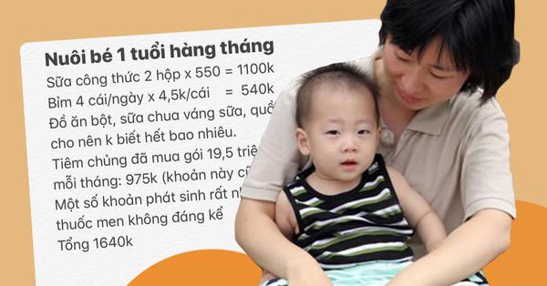 Mẹ bỉm sữa tiết lộ nuôi con siêu tiết kiệm, chỉ hết hơn 1,6 triệu/tháng khiến chị em ngỡ ngàng: