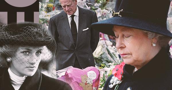 Bị chỉ trích vì làm ngơ trước cái chết của Công nương Diana, Nữ hoàng Anh mang