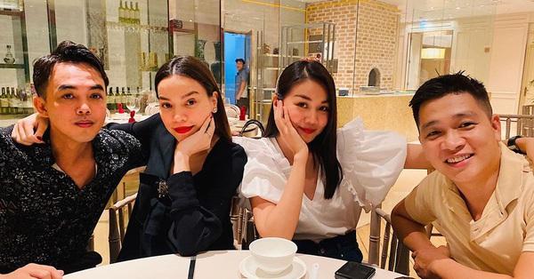 Hà Hồ hội ngộ Thanh Hằng, nhan sắc bà bầu bên bạn thân siêu mẫu gây chú ý