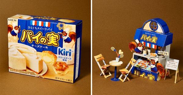 Tưởng chỉ vứt đi, bao bì bánh kẹo bỗng hóa tác phẩm nghệ thuật qua bàn tay của anh chàng Nhật