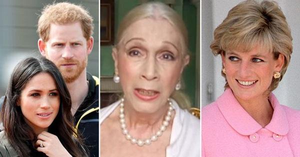Bạn thân Công nương Diana tiếp tục nhận xét thẳng thừng về Meghan Markle, vạch trần âm mưu