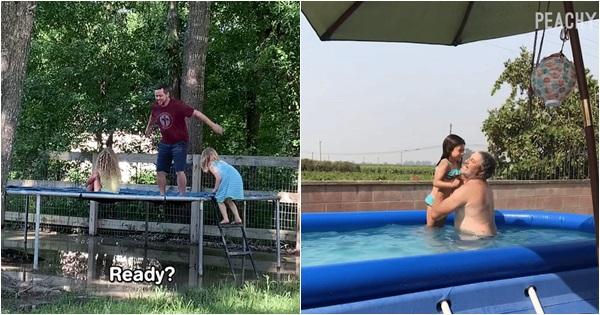 Những hình ảnh mẹ nào nhìn vào cũng hiểu: Để chồng chơi với con là sẽ có chuyện