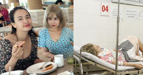 Thái Trinh và Phan Lê Ái Phương nhập viện khẩn cấp vì ngộ độc thực phẩm khi đi du lịch chung