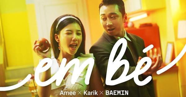 """Top 10 trending MV của Karik và Amee khiến dân tình hú nhau là """"Em Bé"""""""