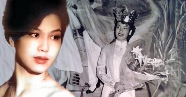 Hoa hậu đầu tiên của Việt Nam: Nhan sắc khiến người đối diện choáng váng vì quá đẹp nhưng học vấn mới thực sự đáng nể