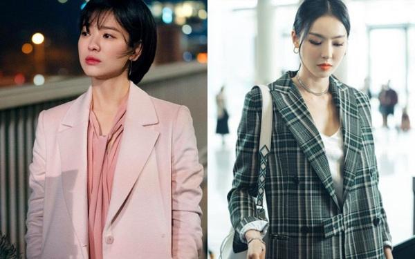 3 kiểu blazer sao Hàn hay diện trong phim, đã đẹp tinh tế còn không bao giờ lỗi mốt, nàng công sở rất nên học theo