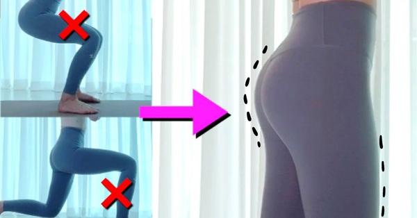 HLV người Hàn chỉ ra lỗi sai khi tập cơ mông: Thể nào mà chị em tập tành