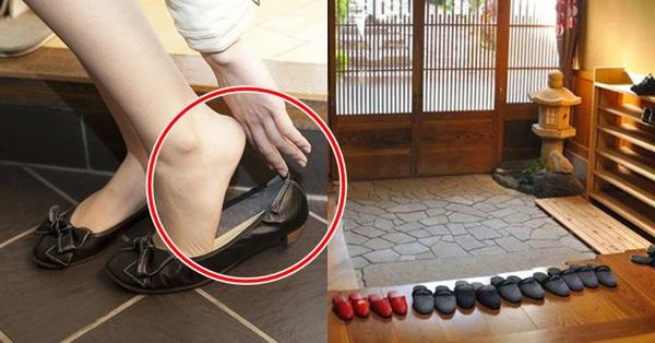 Vội mấy người Nhật cũng không bao giờ quên cởi giày trước khi bước vào nhà, hóa ra đó là lý do vì sao tuổi thọ của họ luôn