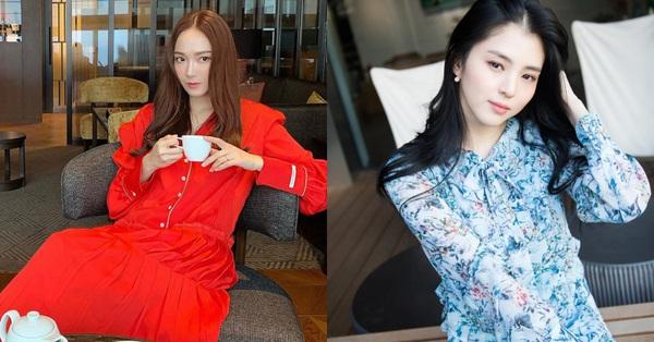 Sao Hàn diện váy liền mùa Thu: Nàng