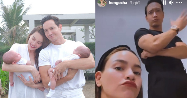 """Hồ Ngọc Hà và Kim Lý """"mua vui"""" với trò nhắng nhít này"""