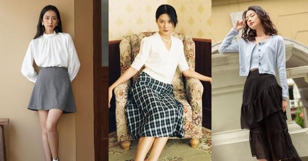 10 mẫu chân váy chỉ từ 235k từ các shop thời trang Việt: Tất cả đều dễ kết hợp và tôn dáng tuyệt vời