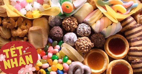 Các địa chỉ online bán tất tần tật các loại đồ ăn vặt, giúp bạn ngồi nhà vẫn mua được đủ các loại bánh kẹo ăn chơi ngày Tết