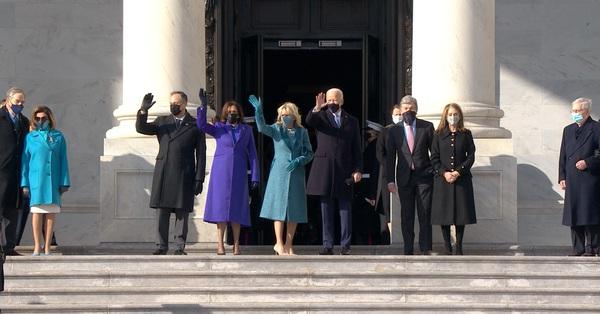 Ông Joe Biden đến tòa nhà Quốc hội chuẩn bị cho lễ nhậm chức Tổng thống Mỹ, đăng đàn bày tỏ tình cảm với vợ trước giờ phút quan trọng