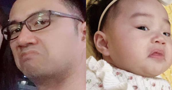 Bé gái 6 tháng tuổi mặt như tấu hài, còn khiến mẹ muốn