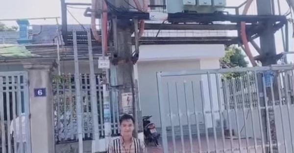 Bái phục gia chủ sở hữu cổng nhà có