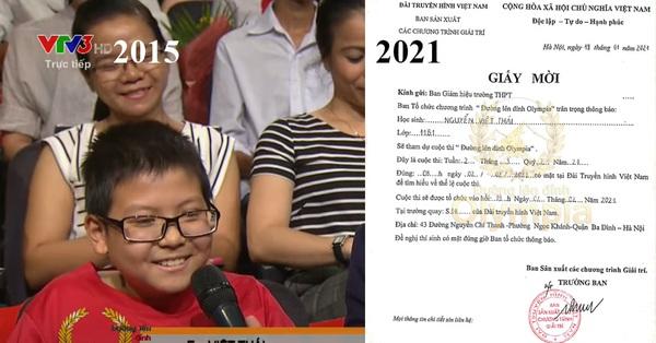Cậu bé 5 năm trước là khán giả, 5 năm sau trở thành thí sinh Olympia, học vấn siêu đỉnh, ngoại hình gây bất ngờ