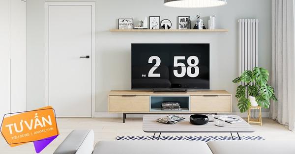 Kiến trúc sư tư vấn thiết kế căn hộ 67m², 3 phòng ngủ với chi phí 93 triệu đồng