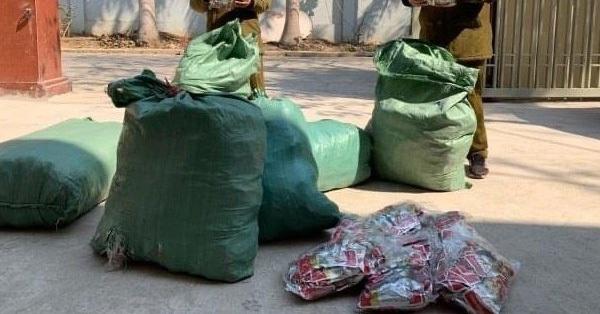 9.000 chiếc chân gà nhập lậu thời điểm dịch cúm gia cầm bùng phát