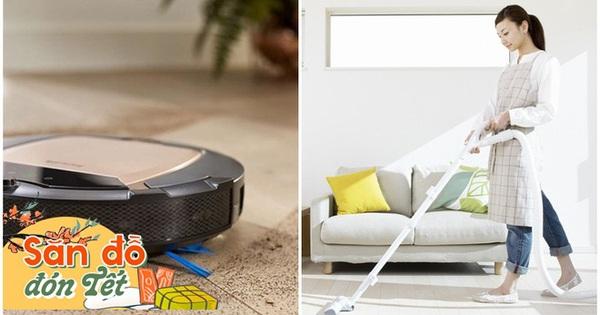 3 thiết bị thông minh bà nội trợ phải mua dịp Tết giúp dọn nhà cửa sạch bong mà không cần tốn sức