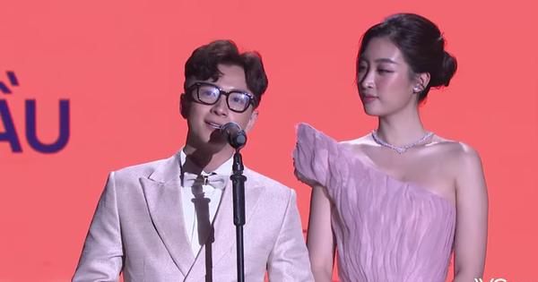 WeChoice khai màn: Hoa hậu Đỗ Mỹ Linh lên sân khấu trao giải, khoe visual cực đỉnh
