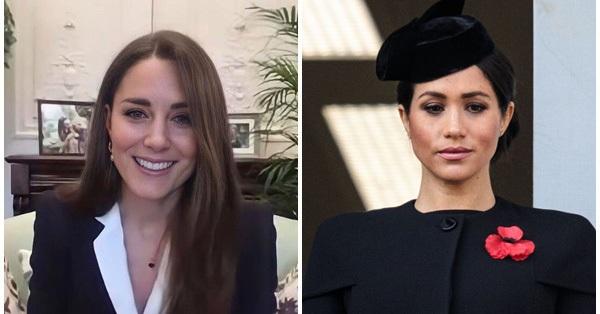 Công nương Kate tái xuất với hình ảnh mới đầy cuốn hút trong khi Meghan Markle lại đau đầu