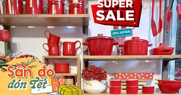 Sắm 5 phụ kiện bếp màu đỏ cho năm Tân Sửu ngập tràn may mắn, có sản phẩm thuộc thương hiệu lớn siêu hot giảm giá tới 33%