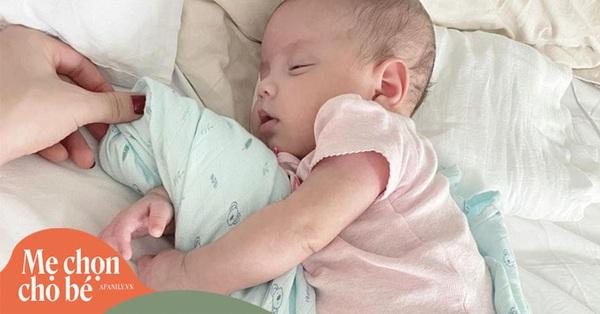 Hồ Ngọc Hà khoe con gái nằm ngủ trông yêu