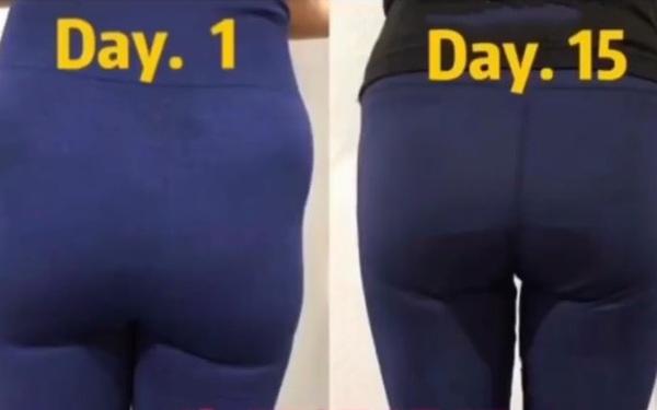 15 ngày tập 3 động tác này đều đặn, vòng 3 của bạn sẽ căng tròn và thay đổi rõ rệt