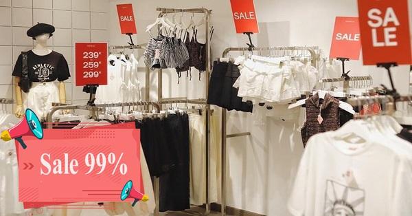 Loạt shop thời trang sale đậm cuối năm: Đồng giá từ 39k, sale tới 99%, freeship tưng bừng