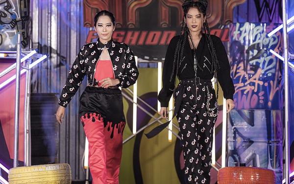 Lãnh Thanh chăm chú xem Nam Em catwalk, mẫu tây Anna lần đầu xuất hiện sau scandal đánh ghen