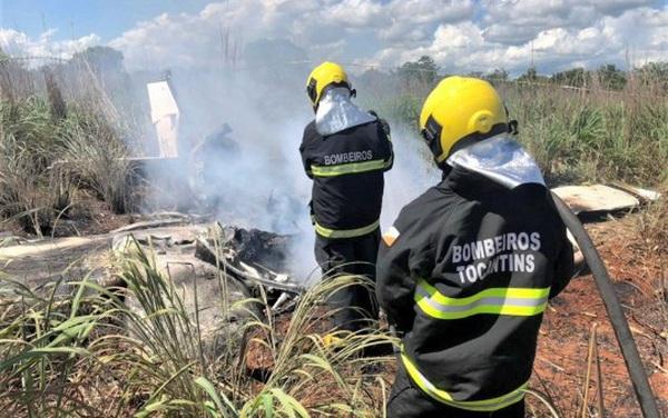 Rơi máy bay chở thành viên câu lạc bộ bóng đá Palmas của Brazil, 6 người thiệt mạng