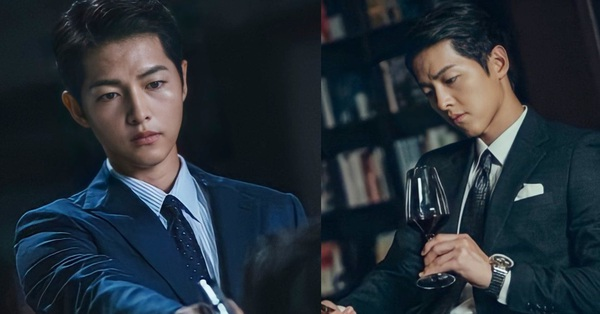 Song Hye Kyo vừa thông báo trở lại, Song Joong Ki liền công bố tạo hình trùm Mafia ngầu không tưởng, nhưng nhìn cứ thấy