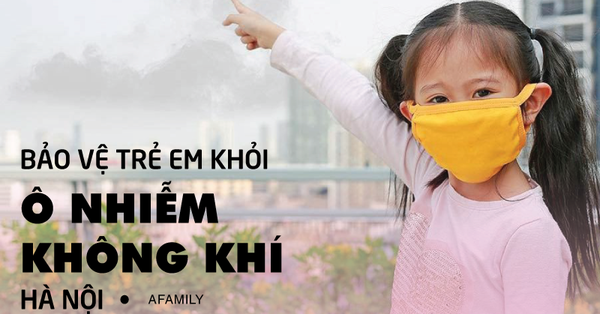 Hà Nội ô nhiễm không khí kéo dài, bố mẹ lưu ý kĩ các khung giờ nên hạn chế cho trẻ ra đường hoặc vui chơi ngoài trời