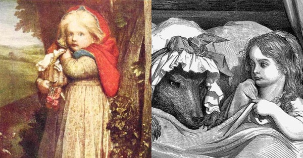 Nguyên bản chuyện cổ tích Cô bé quàng khăn đỏ: Đầy yếu tố bạo lực và đen tối, còn có chi tiết rợn người hệt như trong Tấm Cám