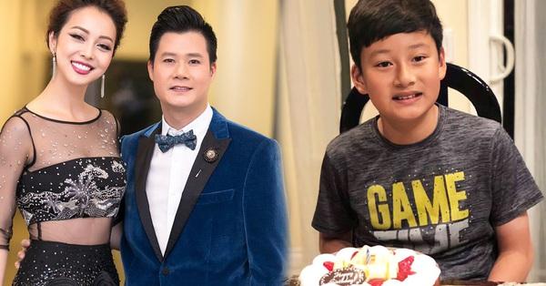 """Con trai Quang Dũng và Jennifer Phạm """"trổ mã"""" ấn tượng ở tuổi 13"""