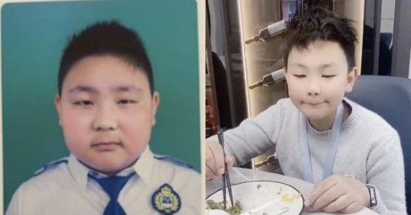 Giảm 15kg trong 2 tháng, cậu nhóc ục ịch trở thành