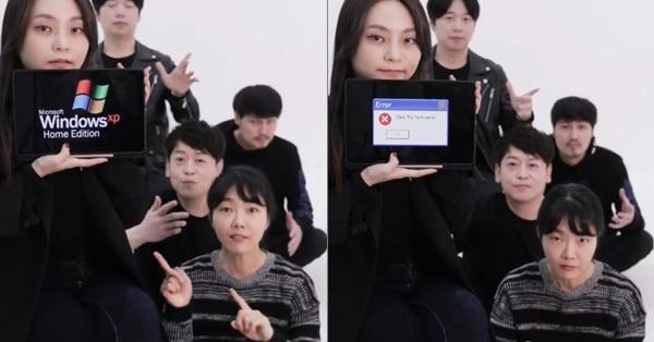 Nhóm nhạc Hàn gây bão mạng vì dùng mồm nhái tiếng Windows, song phản ứng từ Microsoft mới bất ngờ