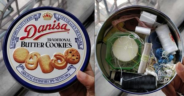 Làm gì với những chiếc hộp bánh quy sau Tết: Đừng vội bỏ đi hãy biến chúng trở thành những món đồ dùng lưu trữ hữu ích bất ngờ