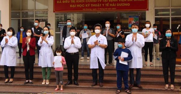 Bệnh nhân COVID-19 nặng nhất tại Bệnh viện Dã chiến số 2 được công bố khỏi bệnh
