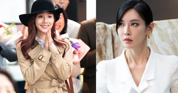 """Cuộc chiến thượng lưu phần 2: Oh Yoon Hee mặt giả trân tới gặp Seo Jin gây chuyện, """"bà xã"""" Ju Dan Tae lên cơn phẫn uất"""