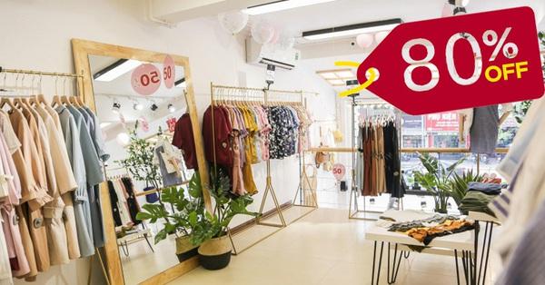 Dịp 8/3: Săn các thương hiệu thời trang nổi tiếng đang đồng loạt sale khủng kịch sàn tới 80%