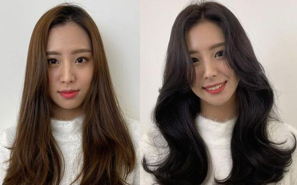Ngắm loạt ảnh before - after của gái Hàn để thấy gội sấy đúng là chân ái cuộc đời