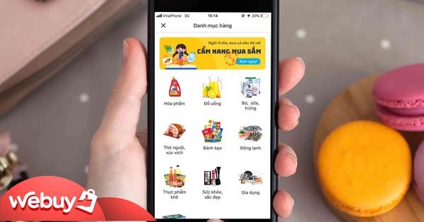 """Muốn sắm đồ đón Tết thì tải ngay những ứng dụng giúp chị em đi chợ online """"khỏe re"""" này!"""