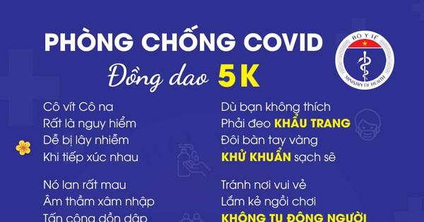 Bộ Y tế gửi thông điệp phòng chống dịch Covid-19 bằng thơ